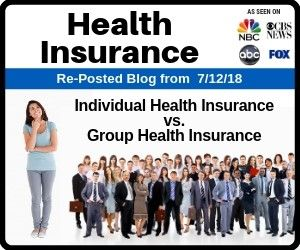 Individual Health Insurance Vs Group Health Insurance What S The