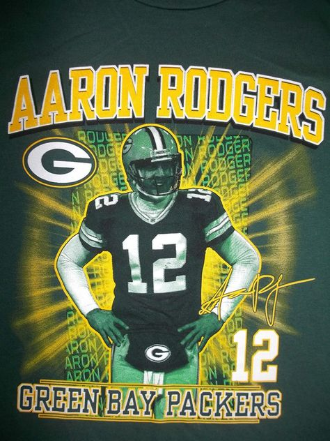 NFL GREEN BAY PACKERS FOOTBALL AARON RODGERS AUTHENTIC T-SHIRT XL -NEW- http://clektr.com/SQh