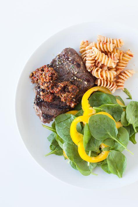 #Epicure Butcher Block Grilled Sirloin Steak with El Dorado Secret Sauce