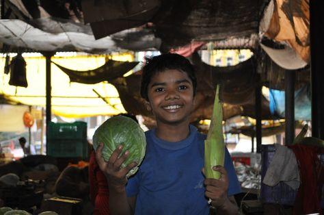 Op de markt / At the market in Jaipur