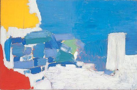 Nicolas De Stael Peintures Art Abstrait Abstrait Peinture Paysage