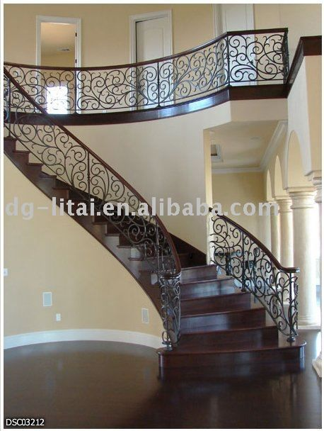 Iron Stair Railing   Google Search | Stairs | Pinterest | Iron Stair Railing,  Stair Railing And Iron