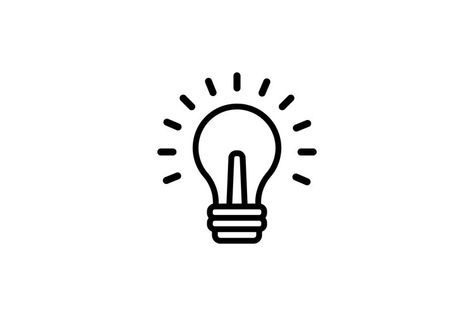 Lamp icon. Supe creative idea concept. Inspiration. Vector (1282364)   Icons   Design Bundles