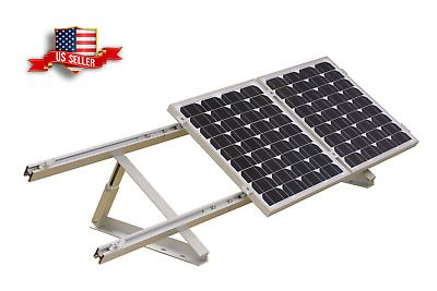 Rich Solar Solar Panel Adjustable Side Of Pole Mount Up To One 200w Module 54 99 Picclick In 2020 Solar Panels Solar Solar Energy