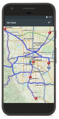 Prism VS's MiniMate™ mobile application enables: Eliminating ... on map out a route trip, map my place, mapping a route, map of my land, map my drives, map my name, map my state, chart my route, map my trip, plan my route, map my run, map sf 5k route, map my city, map my distance,