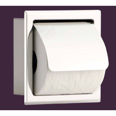 Toilet Paper Holder Stainless Steel Polished With LidRenovator/'s Supply