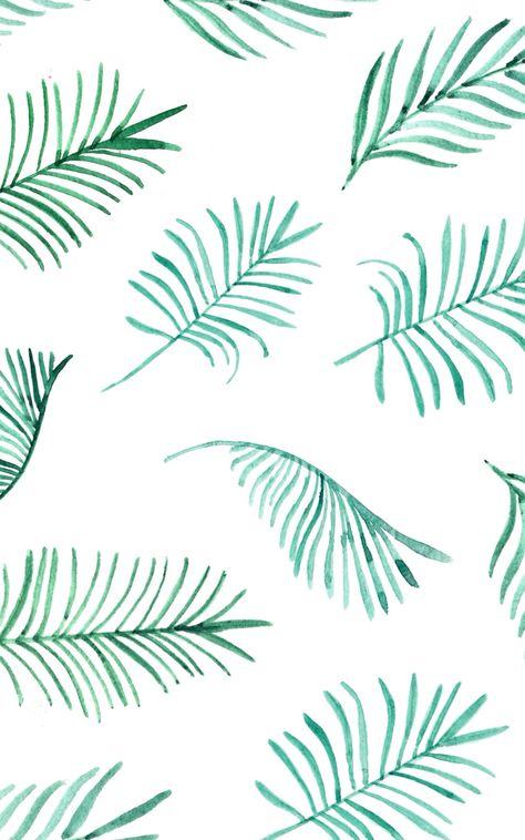 Hojas de palma patrón