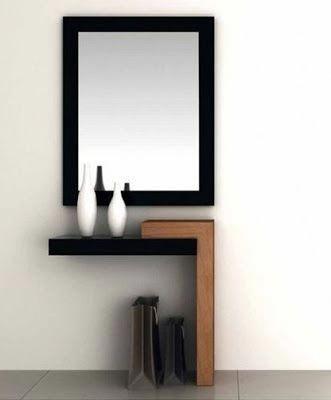 แต งผน ง Image By Yut Dol In 2020 Mirror Design Wall Hallway