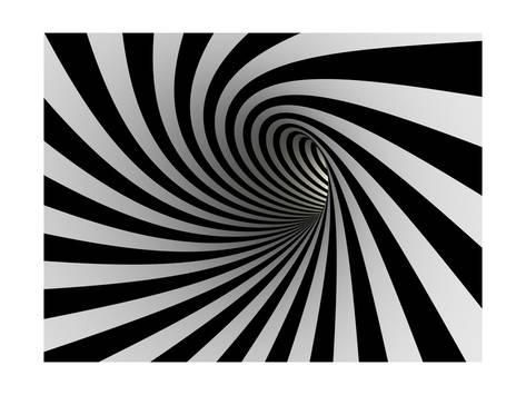 Tunnel Of Black And White LinesBy iuyea