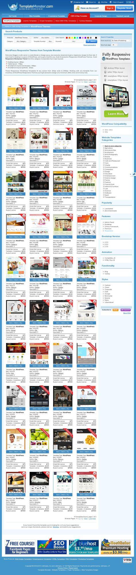 Fantastisch Vorlage Monster Wordpress Themen Zeitgenössisch - Entry ...