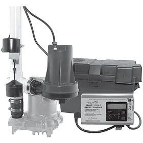 Zoeller 508 0005 508 Aquanot Spin Battery Backup Sump Pump System 1800 Gph 10 Sump Pump Sump Pumps