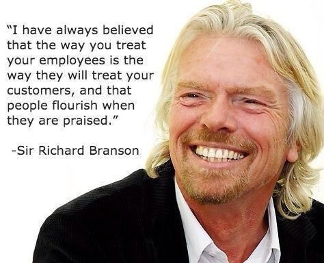Employeerecognition Richard Branson Quotes Richard Branson Work Quotes