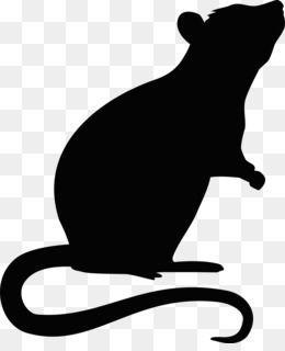 Rat Mouse Png Rat Mouse Transparent Clipart Free Download Hamster Rat Mouse Rodent Pet Pet Rat Hamster Silhueta