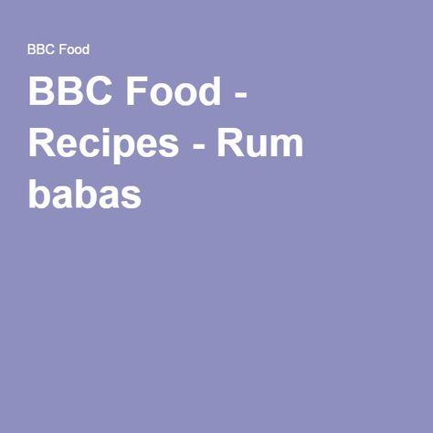 Rum babas recipe pinterest rum recipes and food forumfinder Gallery