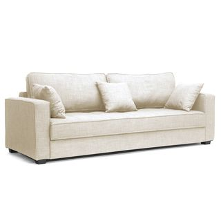 linen sleeper sofa with foam cushioning and three matching sleeper sofa material wood foam cushioning and linen color beige