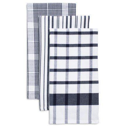 Assorted Twill Kitchen Towels 28 X 20 Set Of 3 Sur La Table In 2020 Kitchen Towels White Kitchen Towels Kitchen Linens