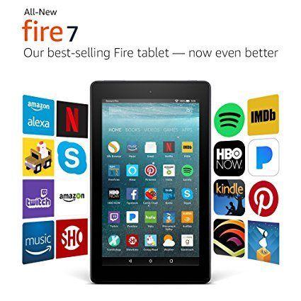 Hot Price Kindle Fire 7 With Alexa Only 39 99 Great Gift Idea Amazon Fire Tablet Tablet Fire Tablet