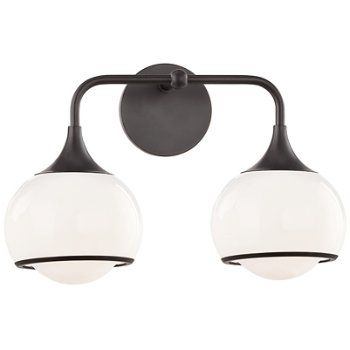 Reese Bath Bar Wall Sconce Lighting Bronze Wall Sconce Wall Sconces