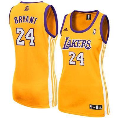 adidas Kobe Bryant Los Angeles Lakers Women's Replica Jersey ...