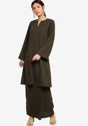 Buy Baju Kurung For Women Online   ZALORA Malaysia & Brunei