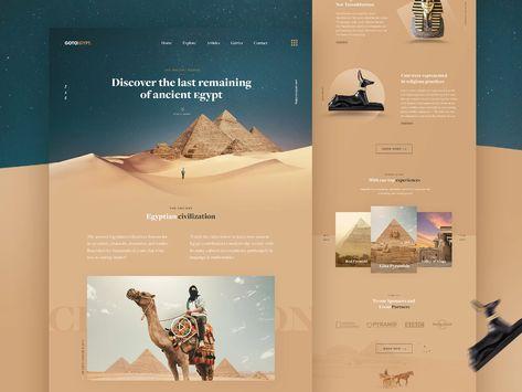 GOTOEGYPT - Travel Landing Page