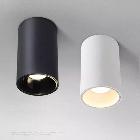 12 Watt LED Decken Leuchte Wohnzimmer Wand Licht Beleuchtung Lampe Flur Metall