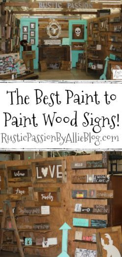Best Paint For Wood Signs Best Paint For Wood Wood Signs Diy Wood Signs