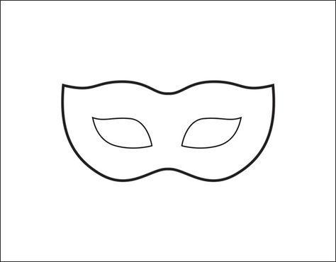 Venezianische Maske Vorlage Masken Vorlagen Venezianische