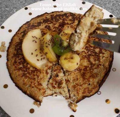 بان كيك سهل ولذيذ بالشوفان والموز Food Breakfast Toast