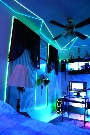 Cool Room Cool Rooms Awesome Bedrooms Neon Room