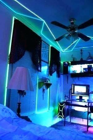 Cool Lights Living Neon Room Neon Lighting Cool Rooms