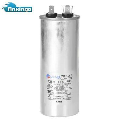 Cbb65a Round Electric Motor Start Run Capacitor 450vac 50uf 50mfd Aluminum Ebay Electric Motor Capacitor Electricity
