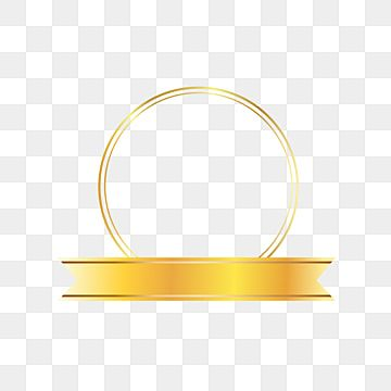 Golden Ribbon With Golden Frame Valentine Ribbon Banner Png And Vector With Transparent Background For Free Download Hand Painted Frames Geometric Background New Background Images