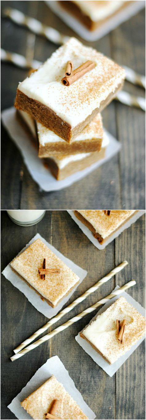 Cinnamon Spice Bars will fill your home and belly with the smells and tastes of Fall!