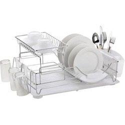 Lakeside Sponge Holder Dish Soap Dispenser For Cleaning Kitchen Organization In 2021 Home Basics Dish Drainers Dish Racks
