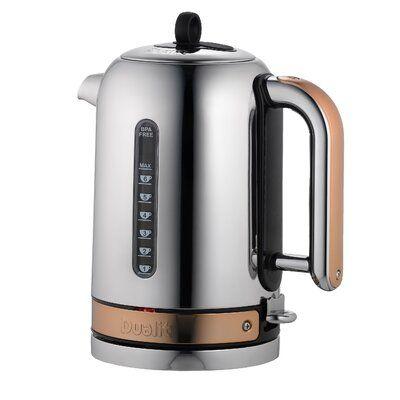 1.7 Liter Electric Tea Kettle Copper