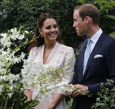 Prince William: The Duke and Duchess of Cambridge enjoyed each other's company on day one.