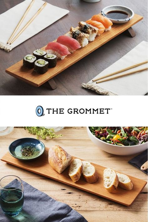 This sushi serving board is made to last. Serve up your favorite roll like a professional with this gorgeous board.
