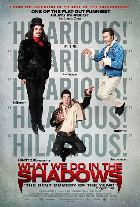 What We Do In The Shadows 11x17 Movie Poster 2014 Cartazes De