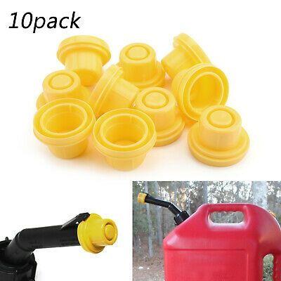 10pcs Plastic Yellow Spout Cap Top For Blitz Fuel Gas Can 900302 900092 900094 Gas Cans Fuel Gas Solar Powered Water Pump
