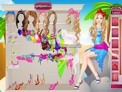 barbie dress up games fashion games free online