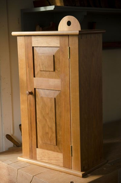 Anatomy Of A Shaker Wall Cupboard With