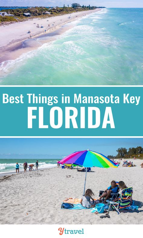 Planning to visit Florida? Manasota Key is a beautiful Florida vacation spot. Think laid-back, pristine, magic sunsets, and cool bars and restaurants. See this Florida beaches destination on the blog. #Florida #Beaches #familytravel #vacations #Floridatravel #roadtrips