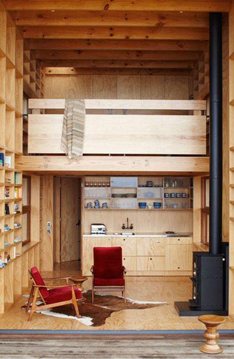 Whangapoua, Prefab Hut by Crosson Clarke Carnachan Architects