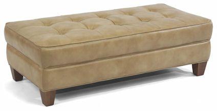 Flexsteel Furniture: NashRectangular Cocktail Ottoman