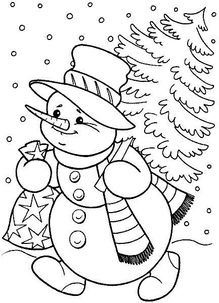 ausmalbilder und malvorlagen  weihnachtsmotive zum