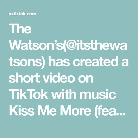 The Watson's(@itsthewatsons) has created a short video on TikTok with music Kiss Me More (feat. SZA). If you don't have this you need it! #fyp #amazonfinds #amazonbabymusthaves #pregnant #babiesoftiktok #momlife #mommusthaves