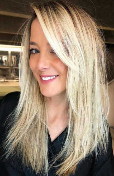 56 Ideas Hairstyles Long Bangs Side Fringe For 2019 Long Thin Hair Long Layered Hair Long Hair Girl