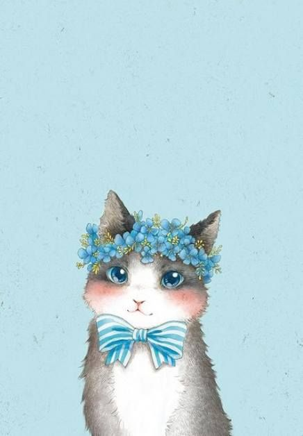 21 Ideas For Painting Cat Awesome Painting Wallpaper Gatos