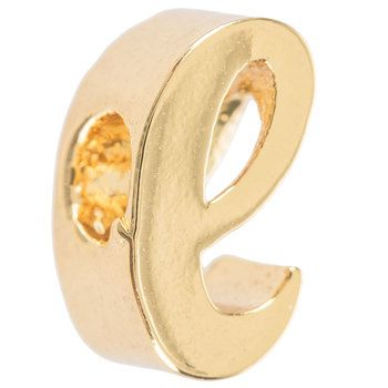 14k Gold Plated Cursive Letter Charm A Letter Charms Lettering Cursive Letters